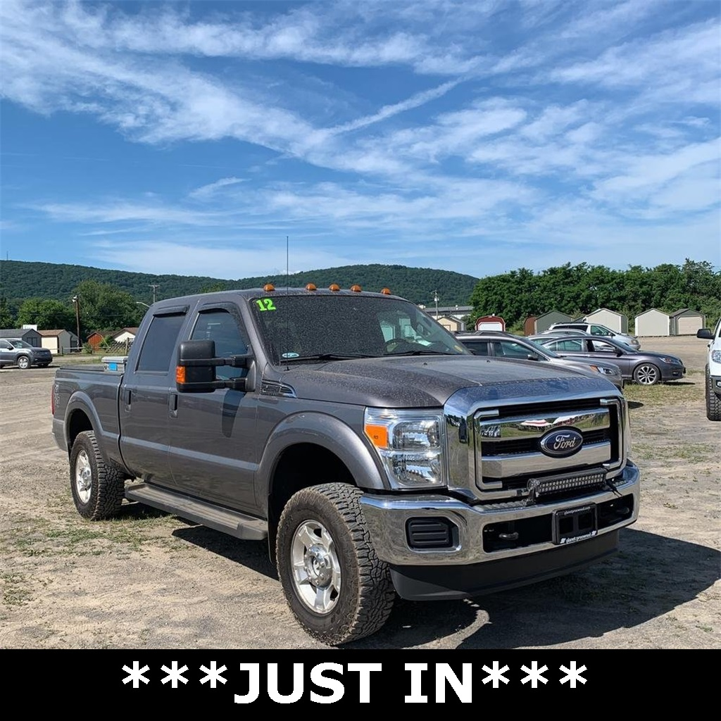 Pre-Owned 2012 Ford F-250SD XLT