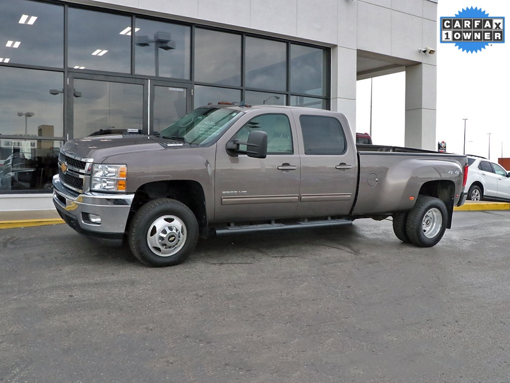 Pre-Owned 2014 Chevrolet Silverado 3500HD LTZ