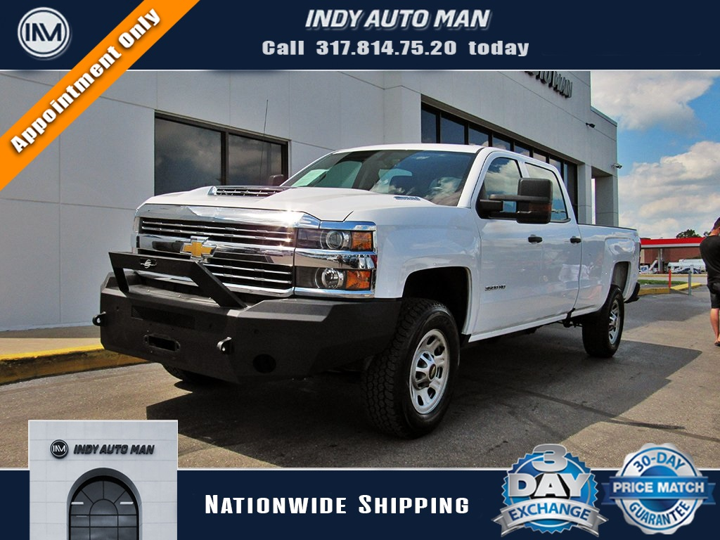 Pre-Owned 2018 Chevrolet Silverado 3500HD Work Truck