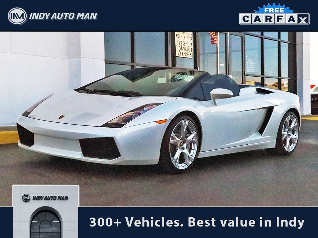 Pre Owned 2008 Lamborghini Gallardo Base 2d Convertible In