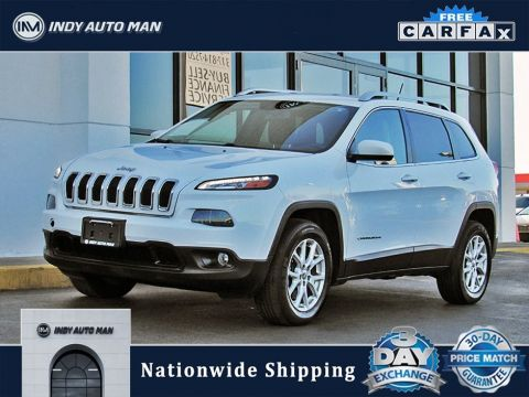 Pre-Owned 2014 Jeep Cherokee Latitude With Navigation & 4WD