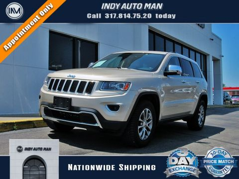 2014 Jeep Grand Cherokee Limited With Navigation & 4WD in Indianapolis, IN