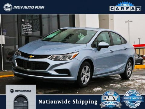 Pre-Owned 2018 Chevrolet Cruze LS FWD 4D Sedan