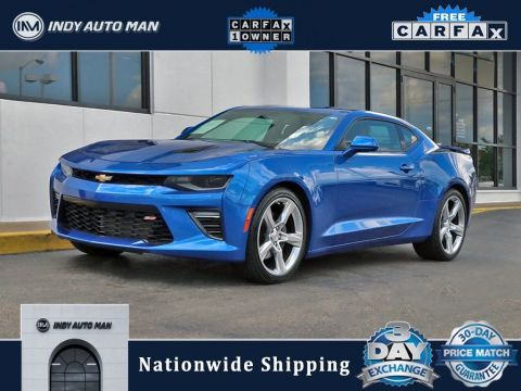 Pre-Owned 2017 Chevrolet Camaro SS With Navigation