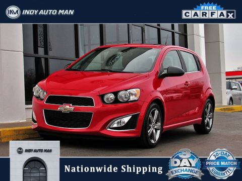 Pre-Owned 2013 Chevrolet Sonic RS FWD 4D Hatchback