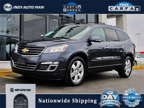 Pre-Owned 2013 Chevrolet Traverse LTZ With Navigation & AWD