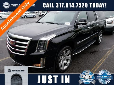 Used 2017 Cadillac Escalade ESV Luxury With Navigation & 4WD