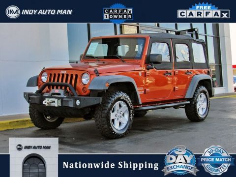 Pre-Owned 2011 Jeep Wrangler Unlimited Sport