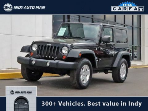 Pre-Owned 2010 Jeep Wrangler X