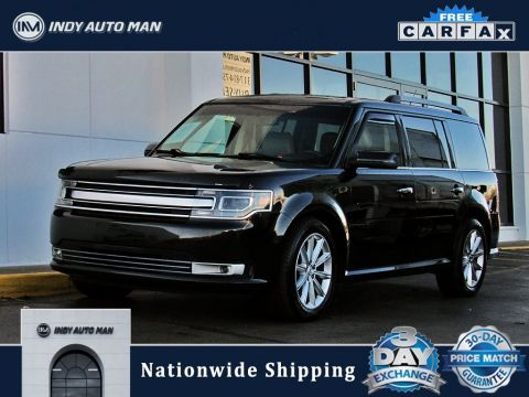Pre-Owned 2014 Ford Flex Limited With Navigation & AWD