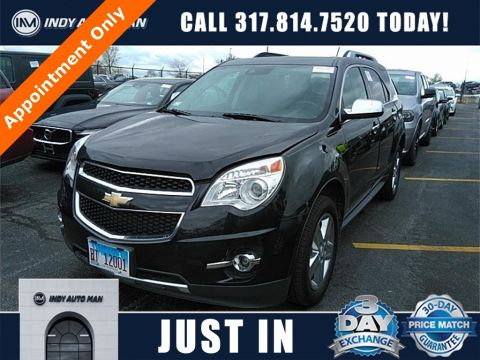 Pre-Owned 2015 Chevrolet Equinox LTZ FWD 4D Sport Utility