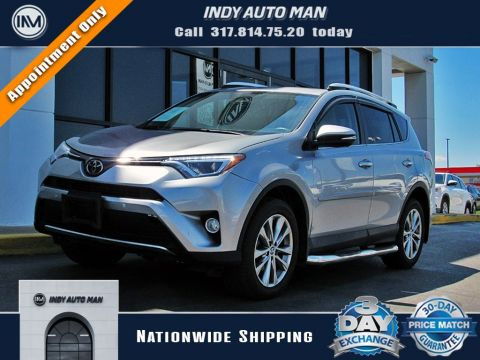 Pre-Owned 2016 Toyota RAV4 Limited With Navigation & AWD