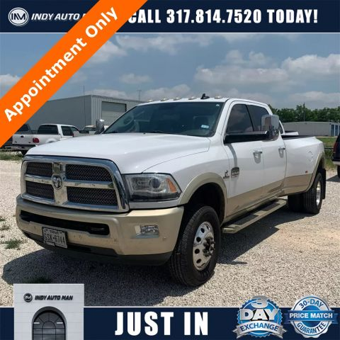Pre-Owned 2016 Ram 3500 Laramie Longhorn With Navigation & 4WD