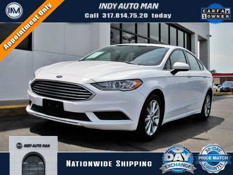 Used 2017 Ford Fusion SE FWD 4D Sedan