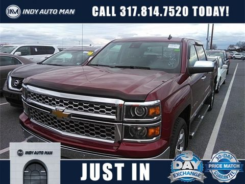 Pre-Owned 2014 Chevrolet Silverado 1500 LTZ With Navigation & 4WD
