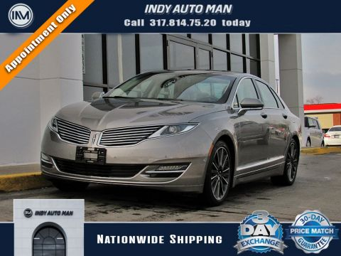 Pre-Owned 2016 Lincoln MKZ Base With Navigation & AWD
