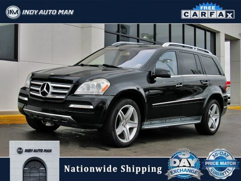 Pre-Owned 2012 Mercedes-Benz GL-Class GL 550 With Navigation
