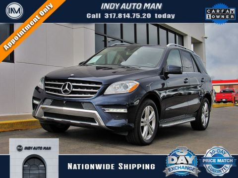 Pre-Owned 2015 Mercedes-Benz M-Class ML 400 With Navigation