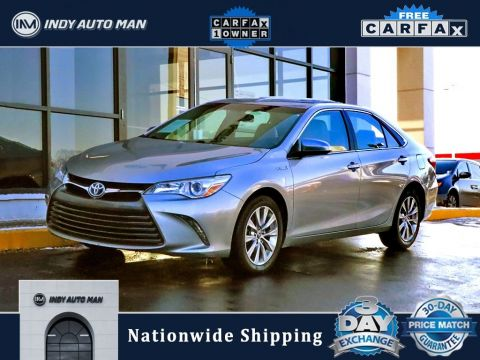 Pre-Owned 2015 Toyota Camry Hybrid XLE FWD 4D Sedan