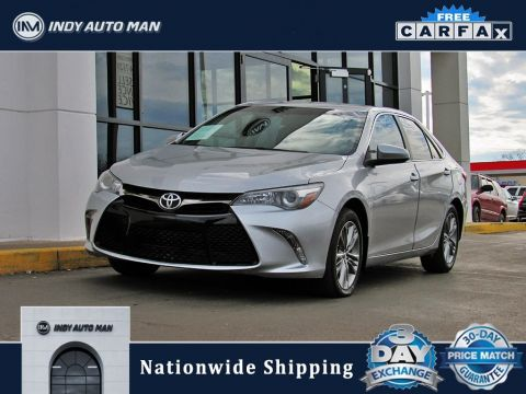 Pre-Owned 2016 Toyota Camry SE With Navigation