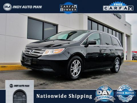 Pre-Owned 2012 Honda Odyssey EX-L With Navigation