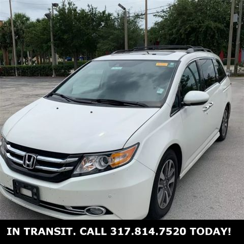 Pre-Owned 2014 Honda Odyssey Touring Elite