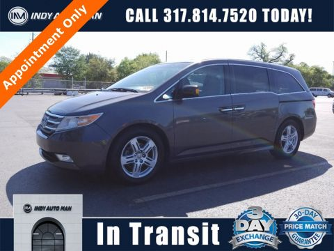 Pre-Owned 2012 Honda Odyssey Touring With Navigation