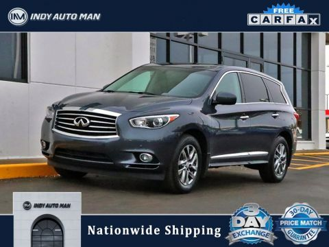 Pre-Owned 2013 INFINITI JX35 Base With Navigation & AWD