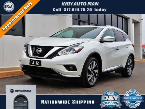 Pre-Owned 2016 Nissan Murano Platinum With Navigation & AWD