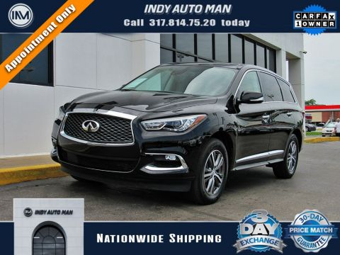 2019 INFINITI QX60 PURE AWD in Indianapolis, IN