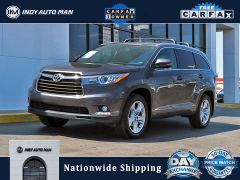 Pre-Owned 2016 Toyota Highlander Limited With Navigation & AWD
