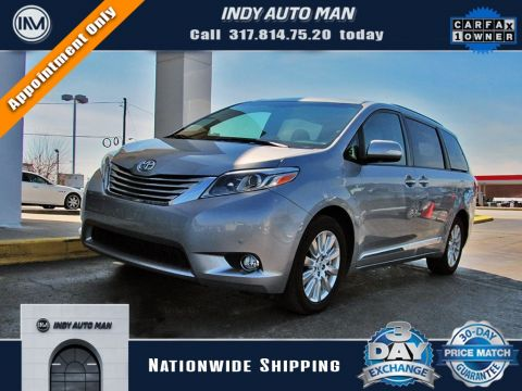 Used 2017 Toyota Sienna Limited With Navigation & AWD