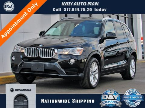 Pre-Owned 2017 BMW X3 xDrive28i With Navigation & AWD