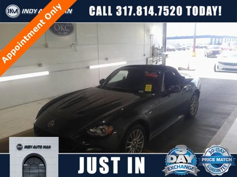 Pre-Owned 2017 FIAT 124 Spider Abarth RWD 2D Convertible