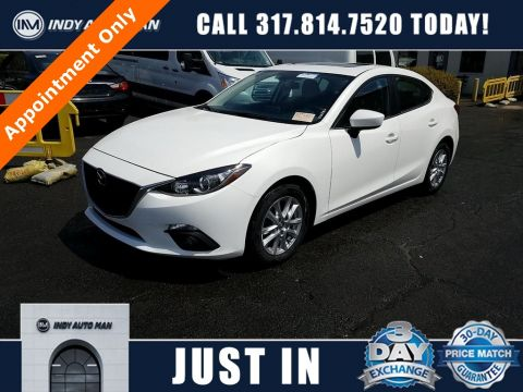 Pre-Owned 2016 Mazda3 i Touring FWD 4D Sedan