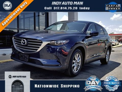 Pre-Owned 2017 Mazda CX-9 Touring With Navigation & AWD