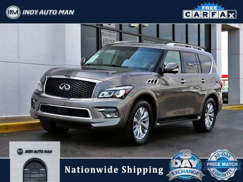 Pre-Owned 2017 INFINITI QX80 Limited With Navigation & AWD