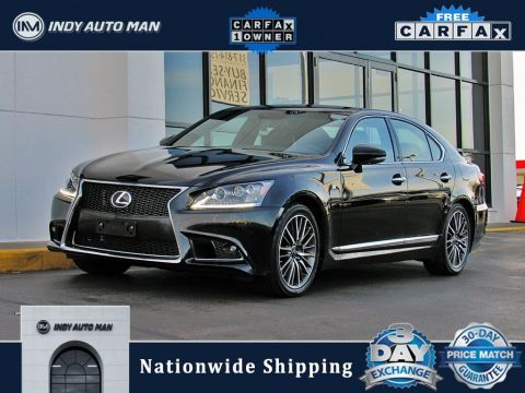 Pre-Owned 2014 Lexus LS 460 With Navigation & AWD