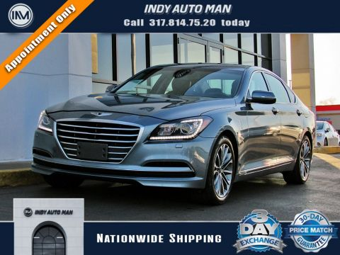 Pre-Owned 2016 Hyundai Genesis 3.8 With Navigation & AWD