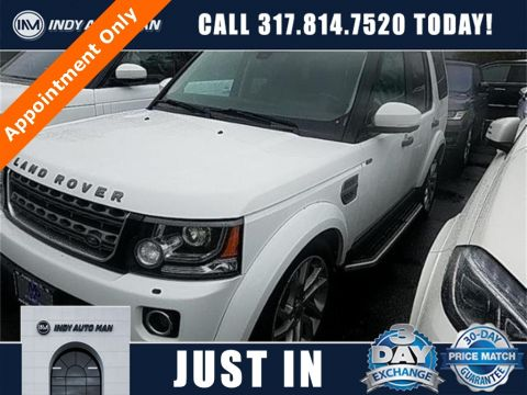 2016 Land Rover LR4 HSE With Navigation & 4WD in Indianapolis, IN