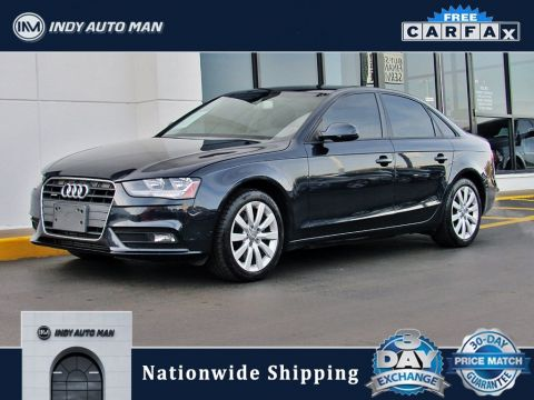 Pre-Owned 2013 Audi A4 2.0T Premium quattro 4D Sedan