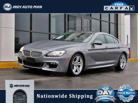 Pre-Owned 2013 BMW 6 Series 650i xDrive Gran Coupe With Navigation & AWD