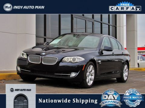 Pre-Owned 2012 BMW 5 Series 550i xDrive With Navigation & AWD