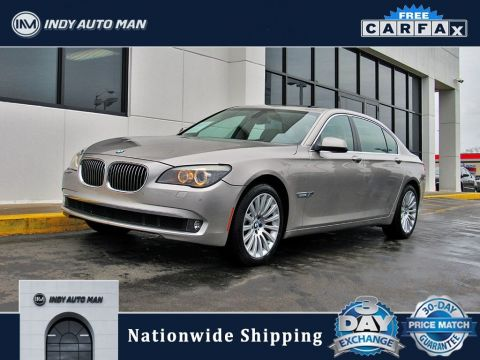 Pre-Owned 2012 BMW 7 Series 750Li With Navigation