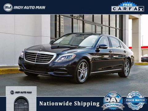 Pre-Owned 2016 Mercedes-Benz S-Class S 550 With Navigation