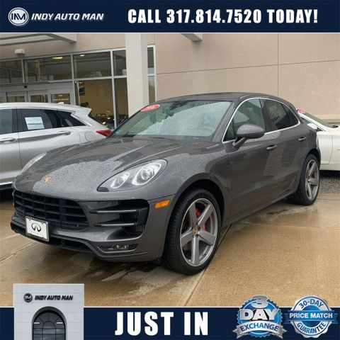 Pre-Owned 2016 Porsche Macan Turbo With Navigation & AWD