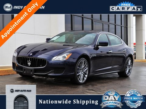 Pre-Owned 2014 Maserati Quattroporte S Q4 With Navigation & AWD