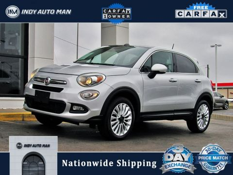 Pre-Owned 2016 FIAT 500X Lounge With Navigation & AWD